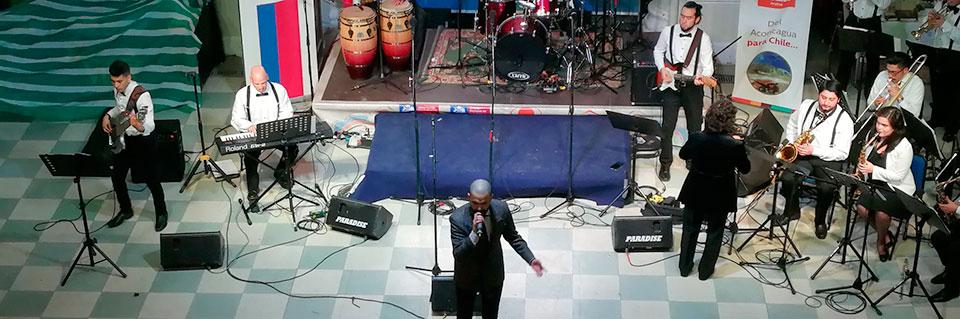 Big Band UPLA presentó espectáculo musical en Los Andes