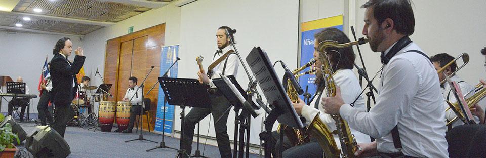 Big Band UPLA se presentó en Viña del Mar