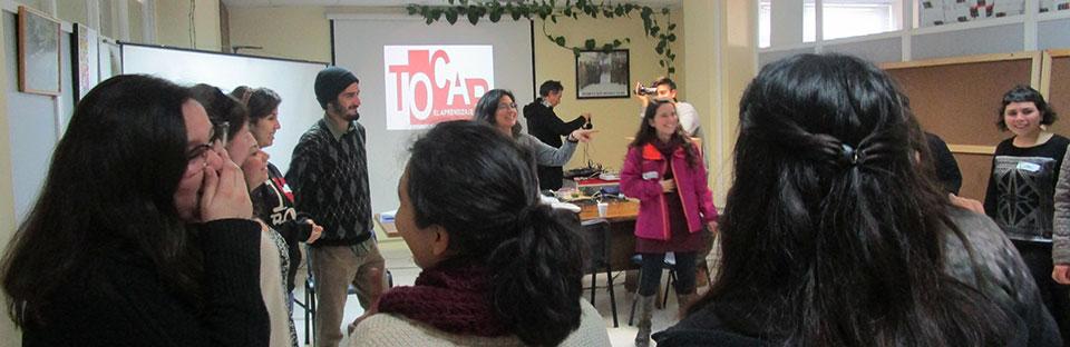"""Proyecto """"Tocar el aprendizaje"""" reunió en Valparaíso a docentes UPLA y UMCE"""