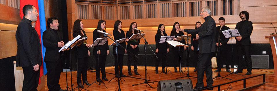 Conjunto de Madrigalistas inicia gira internacional tributo a Violeta Parra