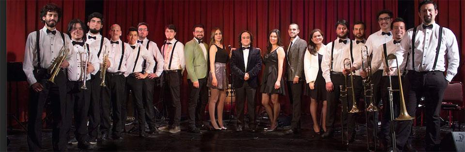 Big Band UPLA da concierto en aniversario del Teatro Municipal de San Felipe