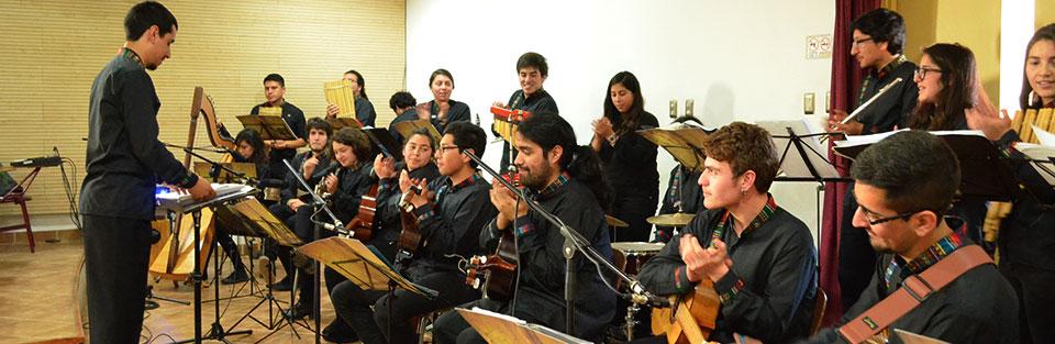 Concierto de Ensamble Abya Yala en la Facultad de Arte