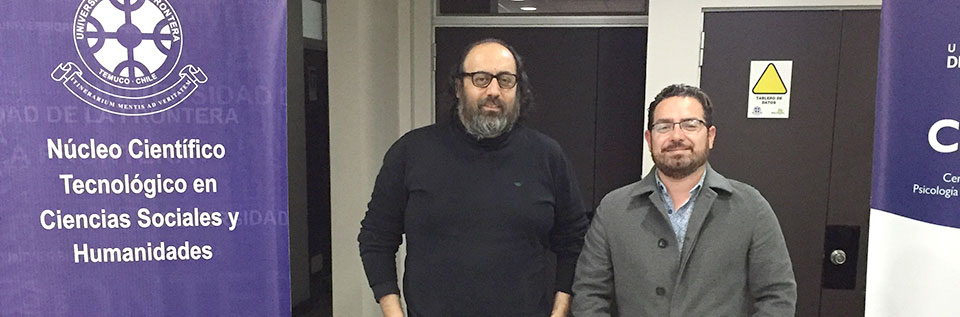 Académico Alejandro Arros realizó visita investigativa a la Universidad de La Frontera
