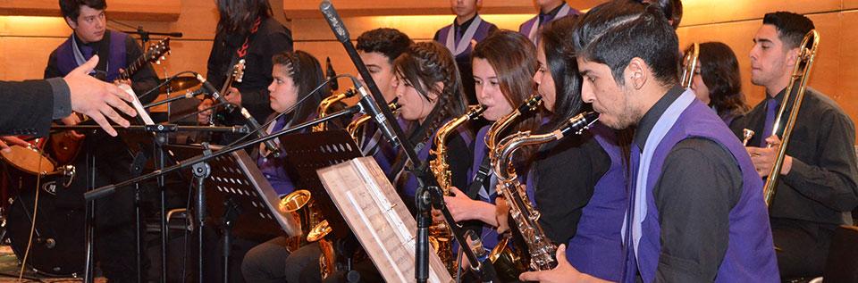 II Encuentro Interescolar de Big Band se desarrolló en la UPLA