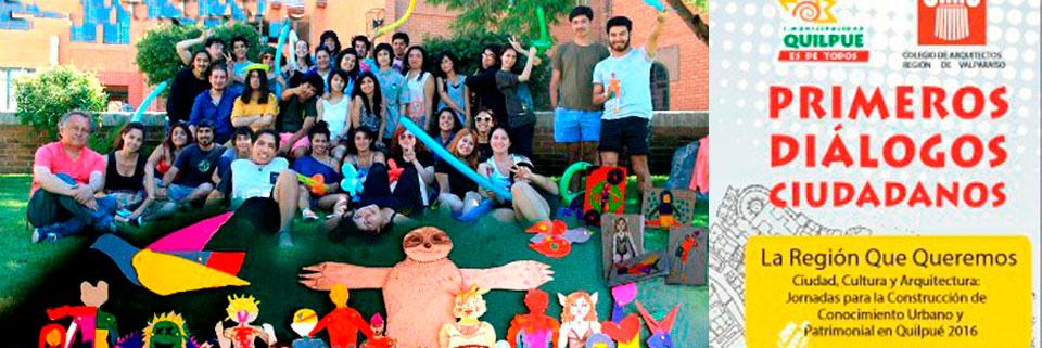 """Quilpué: """"Primeros Diálogos Ciudadanos"""" contará con atractivo taller monitoreado por estudiantes de Artes Plásticas UPLA"""