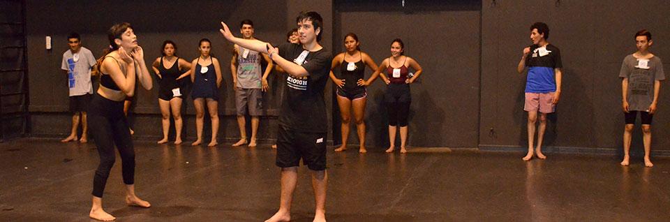 Masiva participación tuvo proceso de selección para ingresar a Teatro en la UPLA