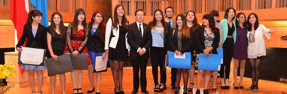 129 egresados (as) de la Facultad de Arte recibieron sus títulos profesionales