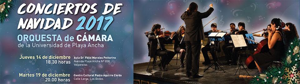 """Orquesta de Cámara realizará """"Concierto de Navidad"""" en la UPLA"""