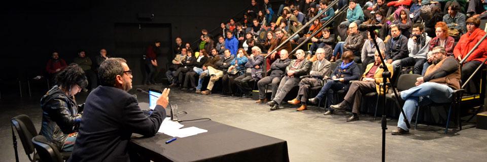 El tema de la participación marcó la primera cuenta pública de la Facultad de Arte