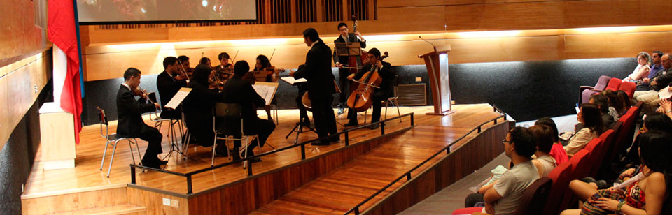 Concierto de Navidad de la Orquesta de Cámara reunió a la comunidad UPLA