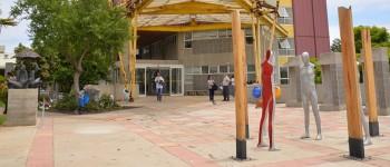 Esculturas serán parte de futura plaza inclusiva