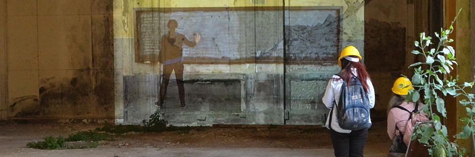 Práctica de arte colaborativa abrió sus puertas en escuela Barros Luco de Valparaíso