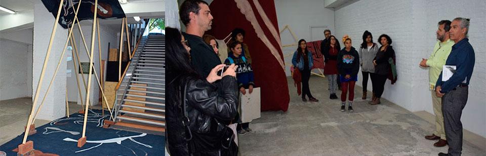 Ciro Beltrán propone un Spatium Vaga en Sala Puntángeles