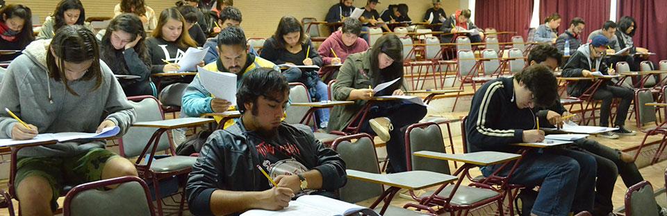 Estudiantes UPLA rindieron Evaluación de Diagnóstico Inicial