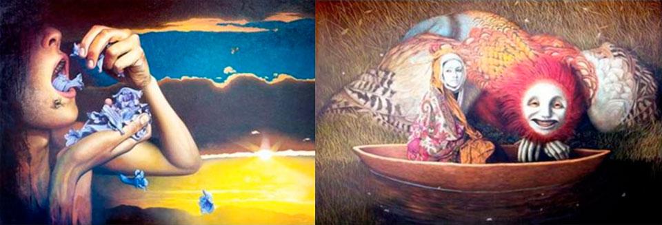 Pintor hiperrealista Martín Riveros expone en galería Bahía Utópica