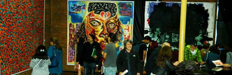 """Inauguración exposición """"3×3"""" en Sala Juan de Saavedra de Valparaíso"""