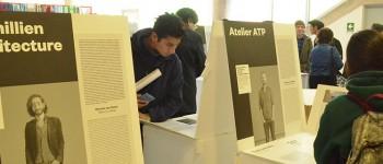 Exposición francesa de arquitectos y paisajistas en Biblioteca UPLA