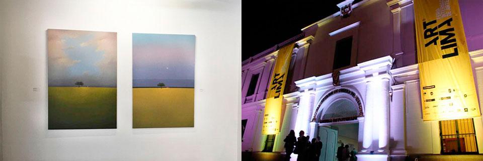 Óleos de José Basso se exhibieron en Feria Internacional de Arte de Lima
