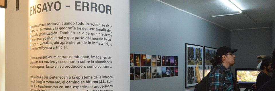 Muestra fotográfica de artistas UPLA se expone en Centex Valparaíso