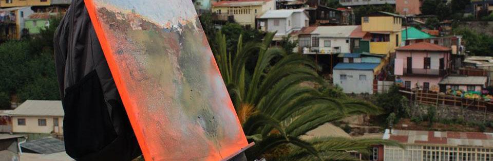 VI Encuentro Nacional de Pintura In Situ en Parque Cultural de Valparaíso