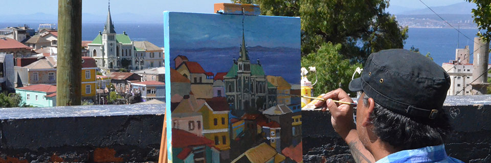 Arte In Situ convocó a 103 artistas en el Parque Cultural de Valparaíso