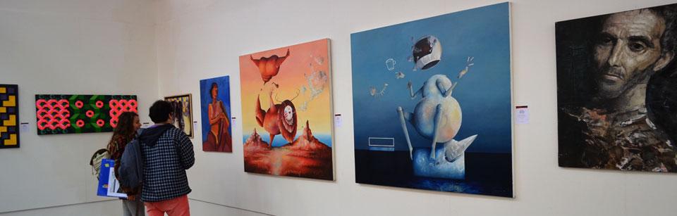 Exposición Anual de Arte se inauguró en Casa Abierta de Concón