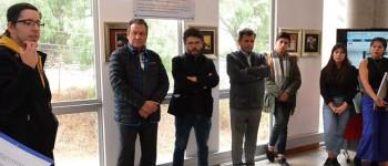 Biblioteca UPLA inauguró exposiciones de estudiantes de Licenciatura en Arte