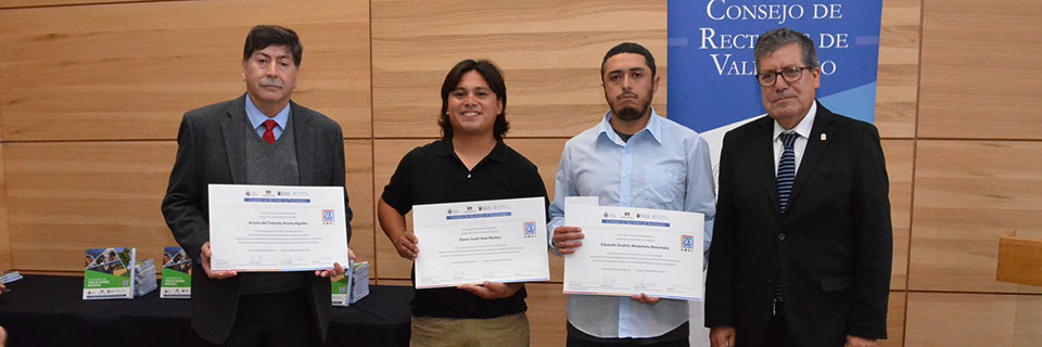 CRUV reconoció tesis de Dibujante Proyectista por su interés regional