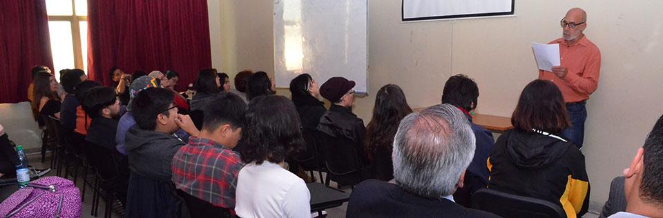 Pintor Ricardo Wiesse dictó conferencia sobre trabajo plástico realizado en santuario inca Pachacámac
