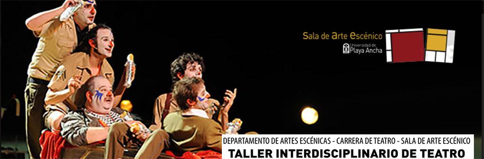 Carrera de Teatro UPLA impartirá taller de formación teatral para estudiantes de cuarto medio