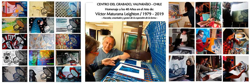 Artista UPLA Víctor Maturana conmemorará 40 años dedicado a las artes visuales