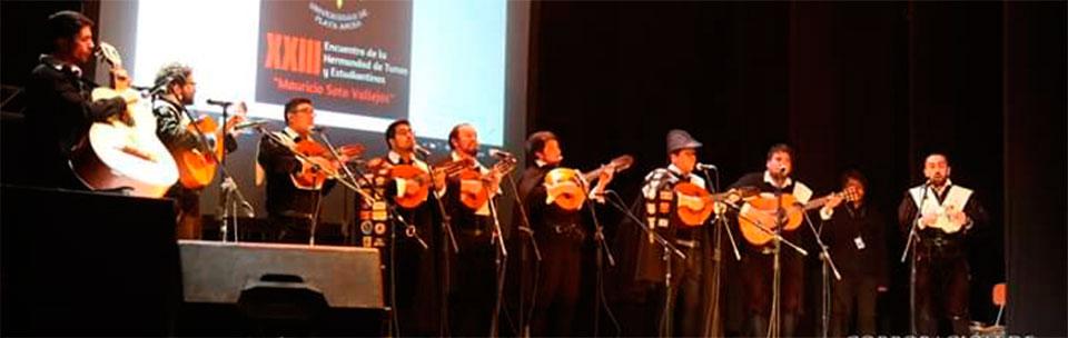 Tuna de la Facultad de Arte representó a la UPLA en cita musical en Calama