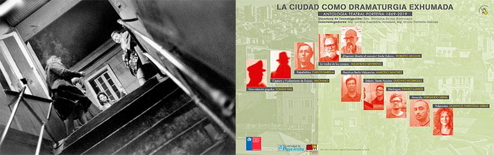 Investigación que recorre 150 años de dramaturgia porteña será presentada en Sala UPLA