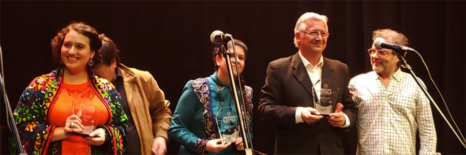Concurso Margot Loyola galardonó a músico UPLA Manuel Chamorro