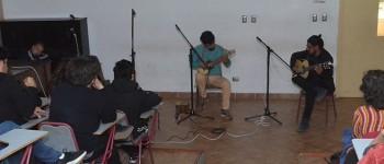 Dúo Montes-Durán dio inicio a Temporada de Charlas y Conciertos en Facultad de Arte