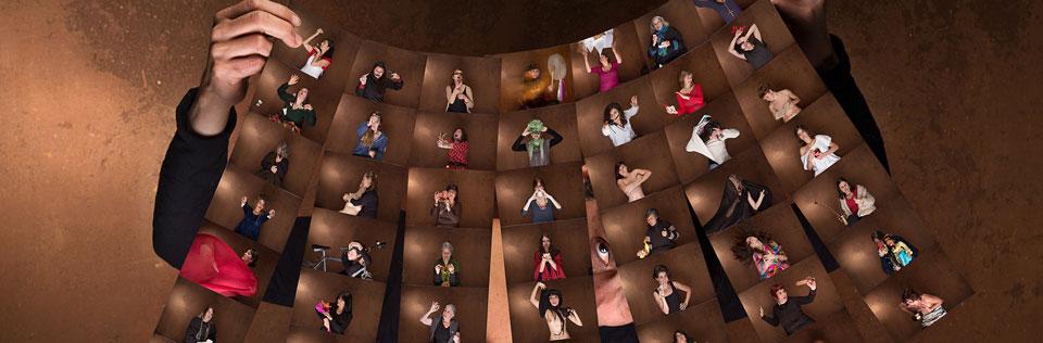 Reinauguran muestra fotográfica con retratos de 50 mujeres porteñas