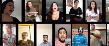 """Con tema de Violeta Parra """"Madrigalistas"""" comparten mensaje de esperanza"""