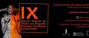 """Festival """"Humberto Duvauchelle"""" convoca a todas las escuelas de teatro del país"""