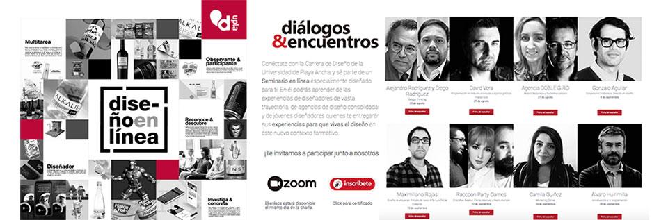 Con éxito se desarrollan seminarios organizados por la Escuela de Diseño de la UPLA