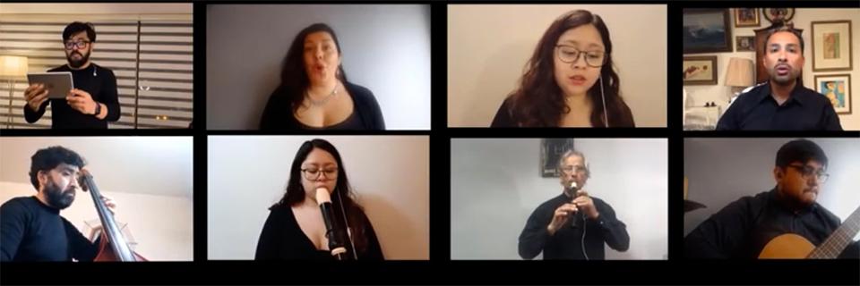 Conjunto de Madrigalistas comparte nuevo trabajo musical