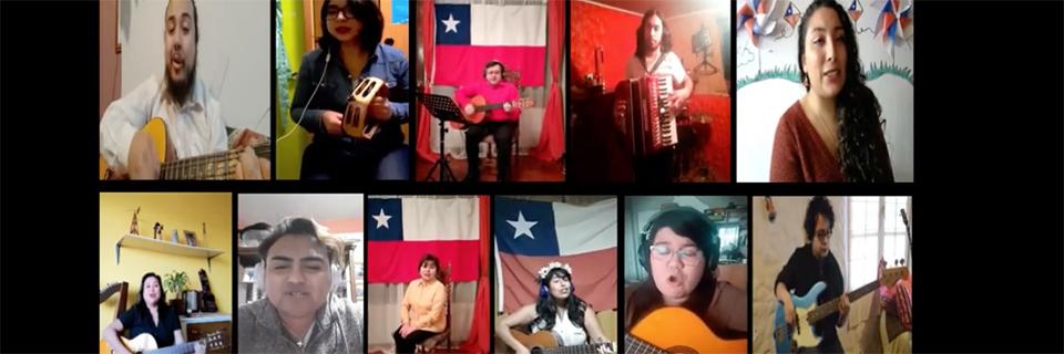 """Conjunto Folklórico """"Puerto Claro"""" comparte trabajo musical realizado en pandemia"""