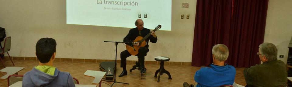 Guitarrista Antonio Rioseco inauguró Temporada de Conciertos UPLA