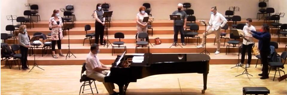 Arreglos corales de Carlos Hernández fueron interpretados en Auditorio Nacional de Madrid