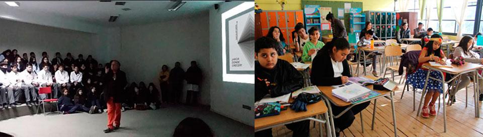 Estudiantes de Arte celebraron Semana de la Educación Artística en Provincia del Marga Marga