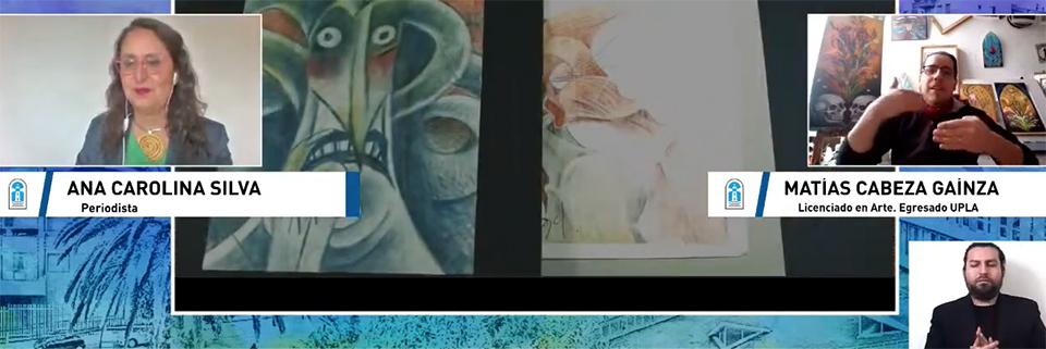 """Carreras de la Facultad de Arte iniciaron ciclo de charlas virtuales """"Conoce tu carrera"""""""