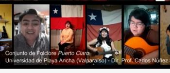 """Conjunto """"Puerto Claro"""" de la UPLA participará en Encuentro Universitario de Folclore"""