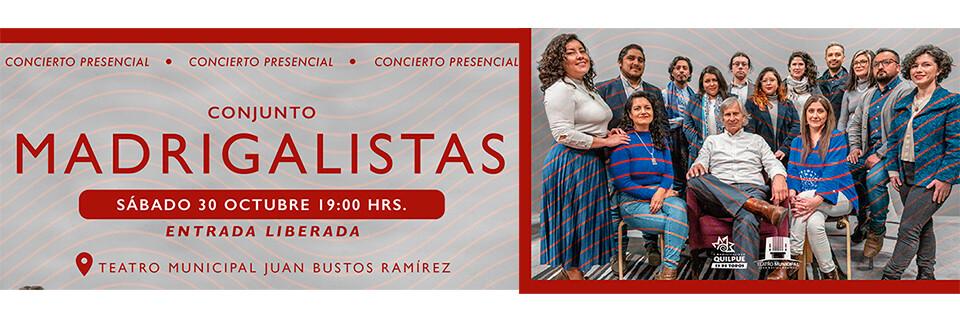 Nueva producción musical lanzará Conjunto de Madrigalistas de la UPLA
