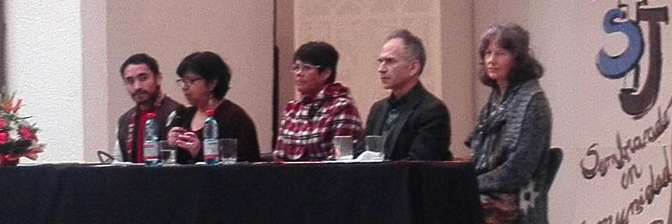 Académico Ricardo Loebell dictó conferencia en colegio de Illapel