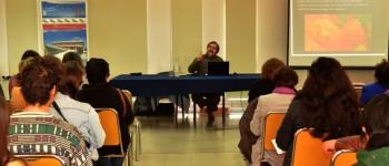 Conservador y restaurador de arte Manuel Concha dictó charla en UPLA