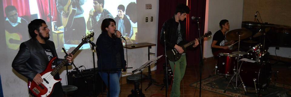 Músicos de colegios San Nicolás se presentaron en Temporada de Conciertos UPLA